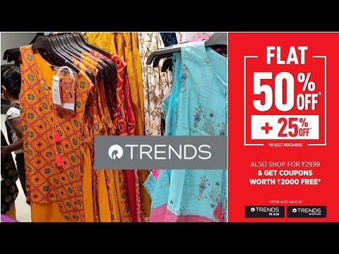 Reliance Trends Kurtis | Summer Collections 2021 | Seasonal Sale | Flat 50% off