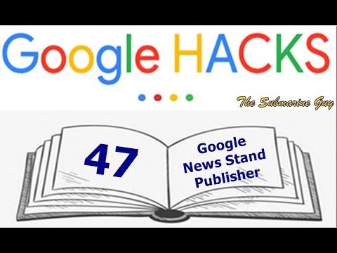 G-Hacks 47 - Google Newsstand Publisher