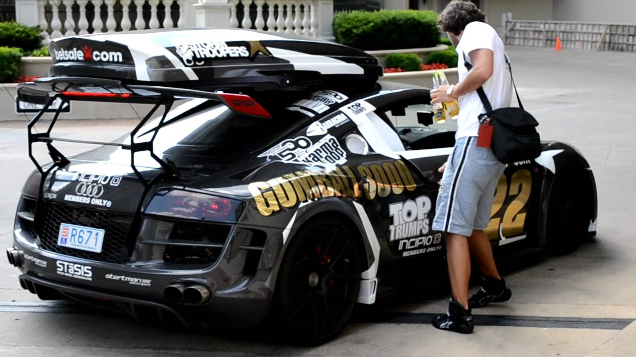 Audi R8 Ppi Razor Gumball 3000 Rally 2012 Youtube