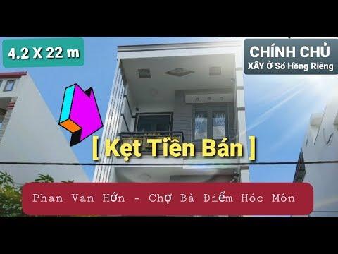 [Nhà đất Hóc Môn 2020 ] Nhà Phố Cao Cấp  Sổ Hồng Riêng  đường Phan Văn Hớn gần Chợ Bà Điểm