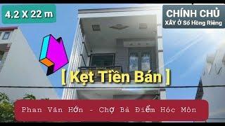 image [Nhà đất Hóc Môn 2020 ] ✅ Nhà Phố Cao Cấp  Sổ Hồng Riêng  đường Phan Văn Hớn gần Chợ Bà Điểm