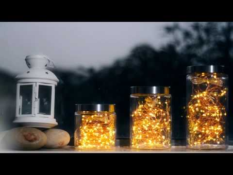 DIY & Creative Window Decorative Lighting Bottles with Led Copper String Lights