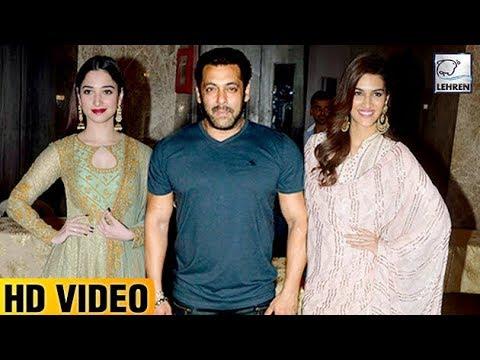Ramesh Taurani's Diwali Party 2017 UNCUT | Kriti Sanon, Salman Khan, Ekta Kapoor  | LehrenTV