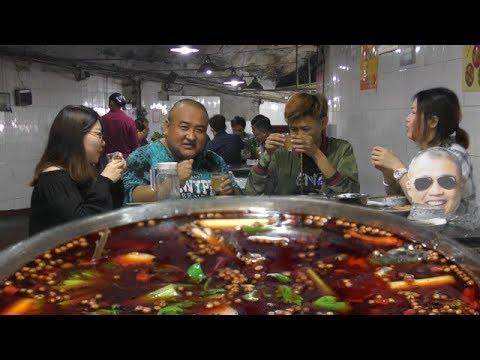 【吃货请闭眼】重庆江湖菜耗儿鱼刺少美味,酸辣正好