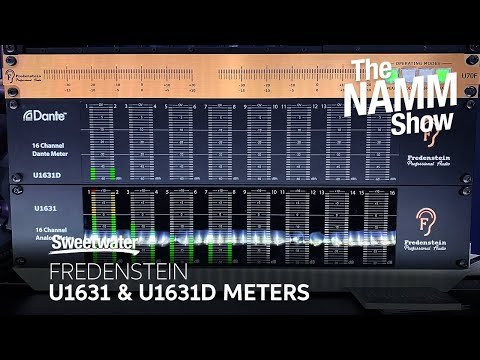 Fredenstein U1631D and U1631 Meters at Winter NAMM 2020