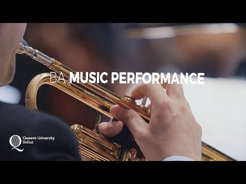 BA Music Performance - Queen's University Belfast