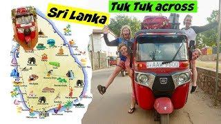 Across Sri Lanka in a Tuk Tuk
