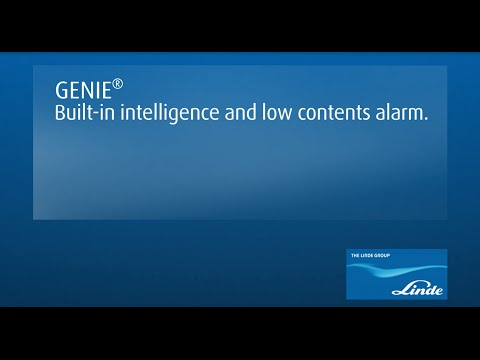 Linde Gas - GENIE®: Built-in intelligence and low content alarm