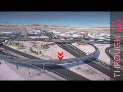 Project Neon in Las Vegas NV: I-15N will be rerouted to US 95N