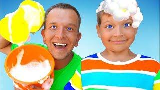 Car Wash Song - Canción Infantil   Canciones Infantiles con Max