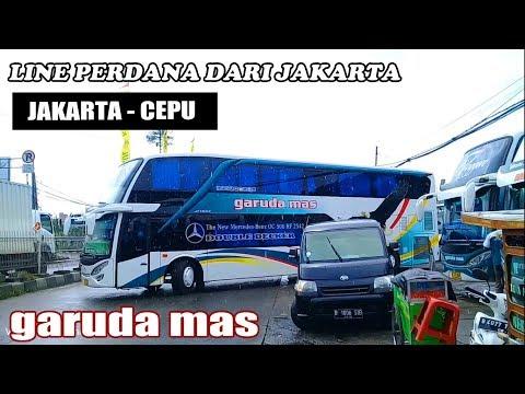 Resmi Beroperasi Bus Tingkat Double Decker Garuda Mas Jakarta