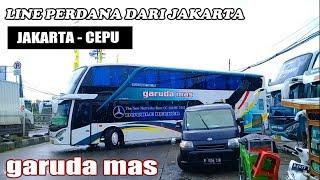 RESMI BEROPERASI | Bus Tingkat/Double Decker Garuda Mas Jakarta- Cepu