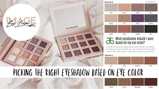 What color eyeshadow to use based on the color of your eyes