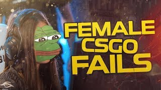 CS:GO - PRO FEMALE BLOOPERS! (FUNNY MOMENTS!)