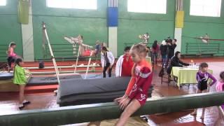 В Павлограде соревновались юные гимнастки