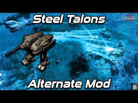 Steel Talons | Alternate Mod | Kanes Wrath Mod , 2v2 Vs Brutal Random Ai , Multiplayer Gameplay