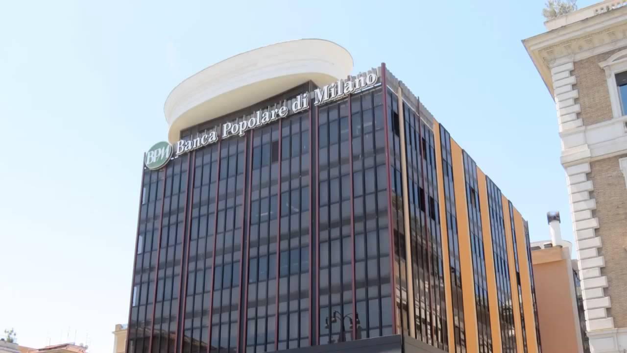 Palazzo della Banca Popolare di Milano - YouTube