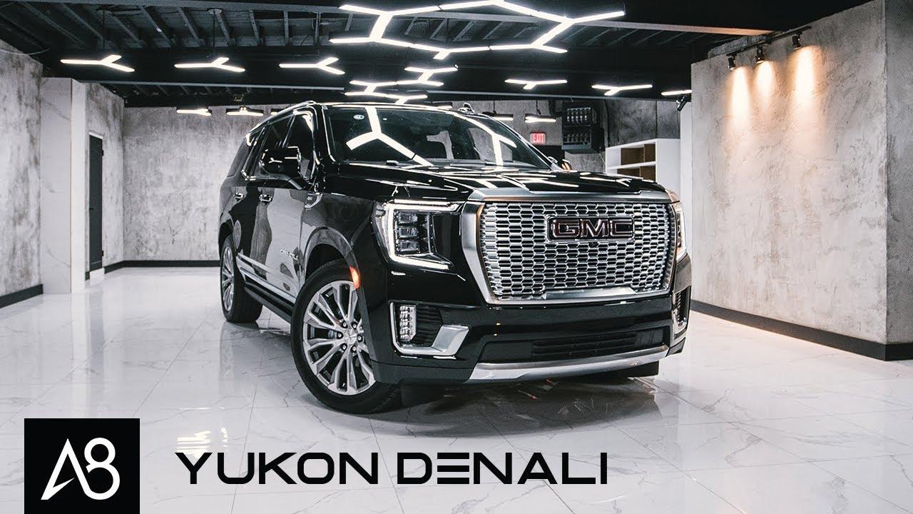 Дизельный GMC Yukon Denali 2021 года - это экономичный огромный люксовый внедорожник
