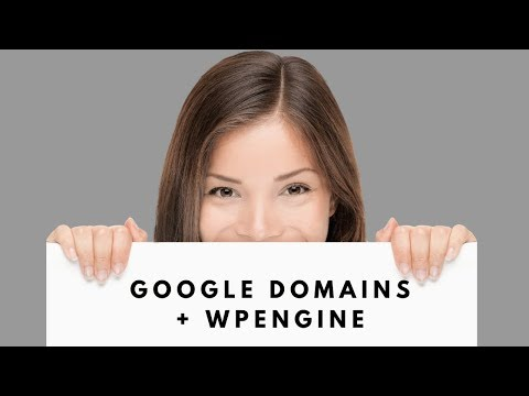 How To Register a Google Domain and Change the DNS info for a WP Engine WordPress Website
