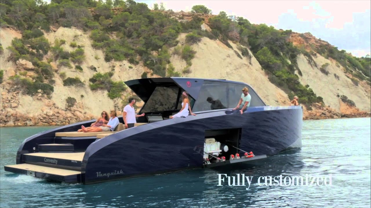 Vanquish Yachts Vq50 Williams Tender Youtube