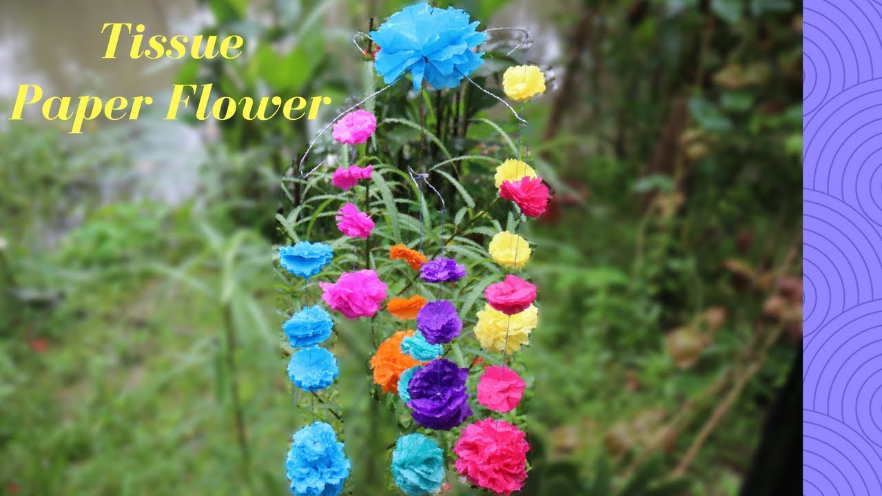 How to make a tissue paper flower very easily easy origami flowers how to make a tissue paper flower very easily easy origami flowers for beginners making mightylinksfo