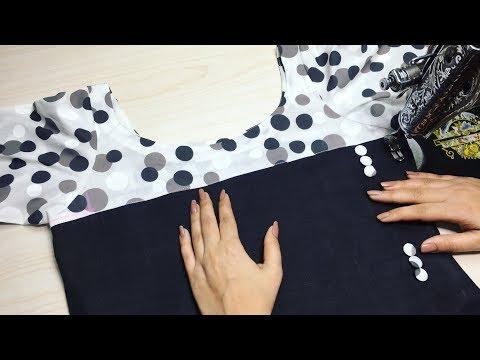 Latest Side Cut Kurti Design Drafting Cutting and Stitching Easy Way || trendy Fashion