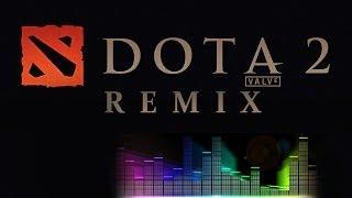 Dota 2 Remix [Sounds over мusic] / Дота 2 ремикс (Blue Stahli - Scrape)