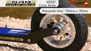 SRB Cross Roller Skiing / Roller Ski XRS01  offered by www.sportalbert.de