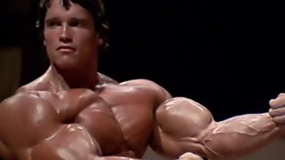 Repeat youtube video Arnold Schwarzenegger Bodybuilding Training - No Pain No Gain 2013