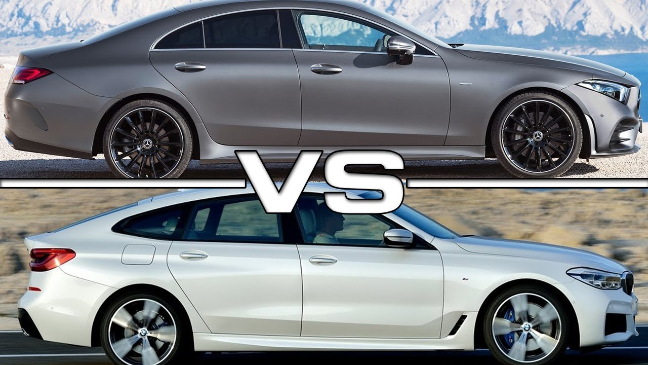 2019 Mercedes CLS vs 2018 BMW 6 Series GT - YouTube