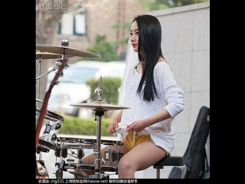 The Sensational Female Street Drummers Of Asia!