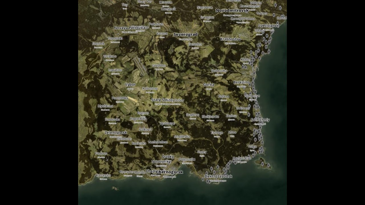 How to get a map on dayz Xbox one