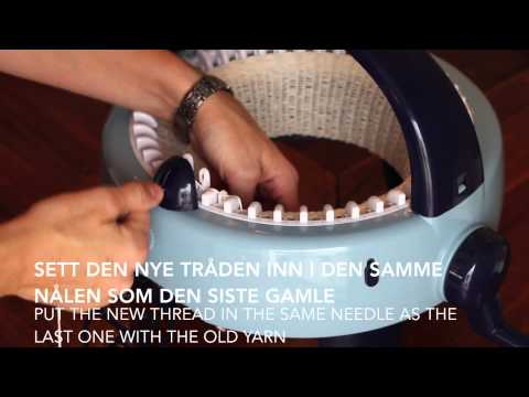Hvordan Strikke En Lue / How To Knit A Hat - Prym Maxi Knitting Mill