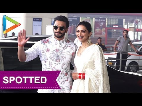 Newly Wed Ranveer Singh & Deepika Padukone leave for Bangalore Reception Mp3