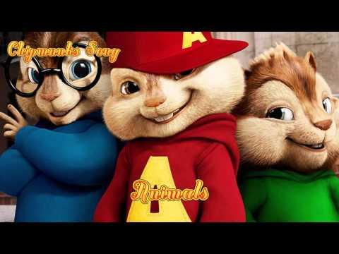 Animals  Maroon 5  Chipmunks version