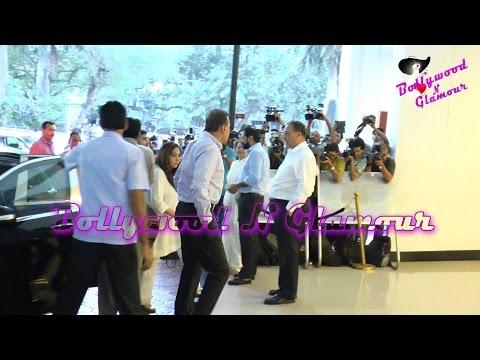 Anil Ambani & Teena Ambani At Vinod Khanna's Prayer Meet