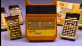 Speak N' Spell commercial 1980