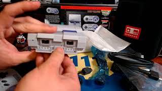 Mini SNES Unboxing - Esto es lo que viene con el Super Nintendo Classic Edition