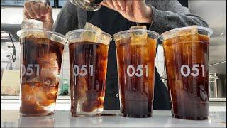ENG) cafe vlog / 20살 카페 주말 알바생…