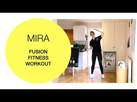 Older adults: Full-body fusion fitness workout 17 July led by Mira FIT FOR GOOD