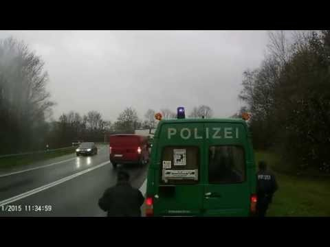 friendly german policeman