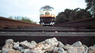 Sunrail Commuter Train Runs Over My Camera