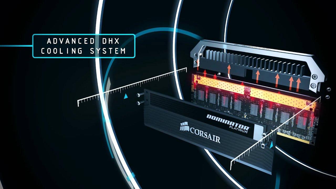 Resultado de imagen para fotos Ddr4 Dominator Platinum 3200 mhz