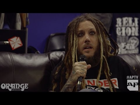 Korn on becoming godfathers of the rock scene