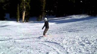 8 Yr Old Snowboards Kirkwood Hully Gully And Flying Carpet 2/11