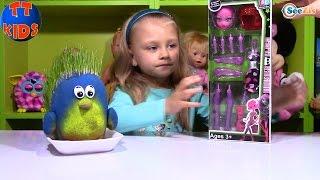 Монстер Хай. Распаковка и обзор куклы-конструктор от Ярославы. Видео для детей. Doll Monster High