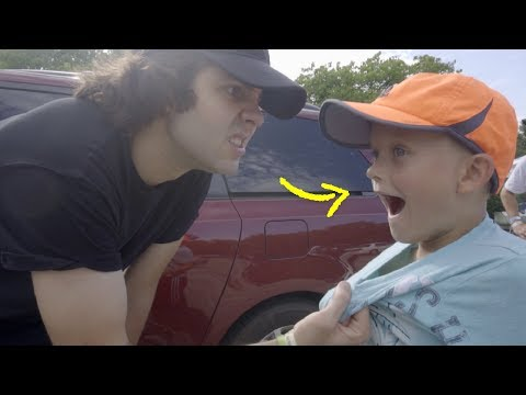 DAVID DOBRIK FIGHTS MY LITTLE BROTHER!