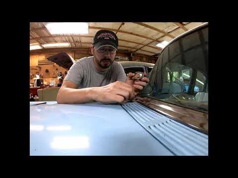 1955 Chevy Rain Gear Wiper Install