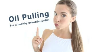 HOW TO OIL PULL: for naturally white teeth & a healthy body Thumbnail