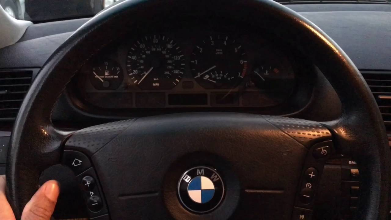 How To Open Hood Of Bmw 325i 2002 Youtube